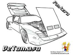 Coloring Pages Demolition Derby Cars Free Of Pinewood Car