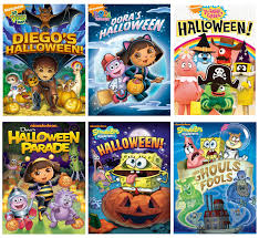 Dora The Explorer Halloween Parade by Nickelodeon Halloween Dvd Roundup Giveaway Annmarie John