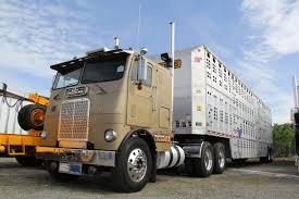 100 White Freightliner Trucks Coe Classic Bull Hauler