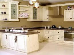 Captivating Antique White Painted Kitchen Cabinets Ideas