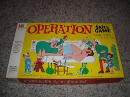 Atomic Amour Retro Board Games Operation Monopoly
