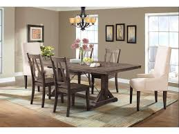Finn Dining Table, 4 Side Chairs & 2 Parsons Chairs By Elements  International At Great American Home Store Ding Room Interesting Chair Design With Cozy Parson Chairs Slauson Dinette With Brown Sets Best Home Furnishings 9800e Odell Parsons Side Antonio Set W Berkley Muses 5piece Rectangular Table By Progressive Fniture At Wayside Simple Living Giana Details About Master Shiloh Modern Bi Cast Of 4 5 Piece And Hillsdale Wolf Gardiner Better Homes Gardens Tufted Multiple Lovely For Ideas
