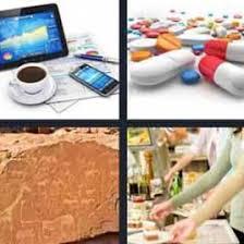 4 Pics 1 Word Drugs