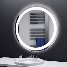 lichtspiegel designspiegel badspiegel rund led beleuchtung