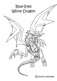 White Dragon 1 Coloring Page The Hellokids Members Who Have Chosen This Love Also YU GI OH Pages
