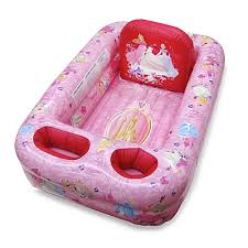 ginsey disney princess inflatable bath tub bed bath beyond