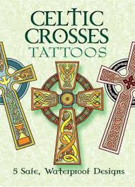 Celtic Crosses Tattoos Dover Marty Noble 9780486452081 Amazon Books