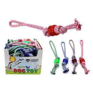 DD Dog Rope Toy with Ring (Pack of 36)