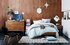 View In Gallery Mid Century Style Bedroom From West Elm