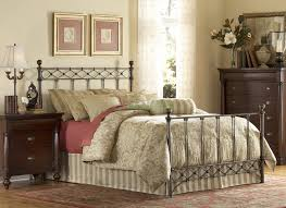 Wrought Iron And Wood King Headboard by Argyle Metal Bed Copper Chrome Bed By Fashion Bed Group Xiorex