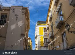 100 Houses In Sorrento Italy March 7 2018 Typical RoyaltyFree Stock Image
