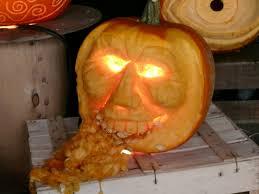 Puking Pumpkin Pattern by Halloween Pumpkin Carvings