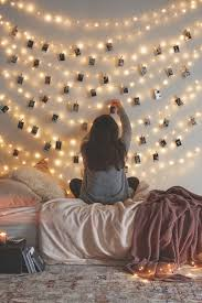 23 stunning diy decoration to do with string lights photo wall