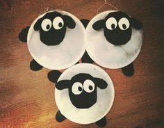 Shaun The Sheep Fiber Paper Plate Art Crafts Kids