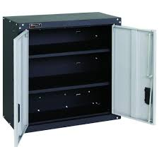 Gladiator 30 Wall Cabinet by Homak Gs00727021 2 Door Wall Cabinet With 2 Shelves Steel Tool