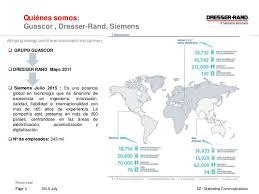 Dresser Rand Siemens Acquisition by Presentación Guascor Dresser Rand