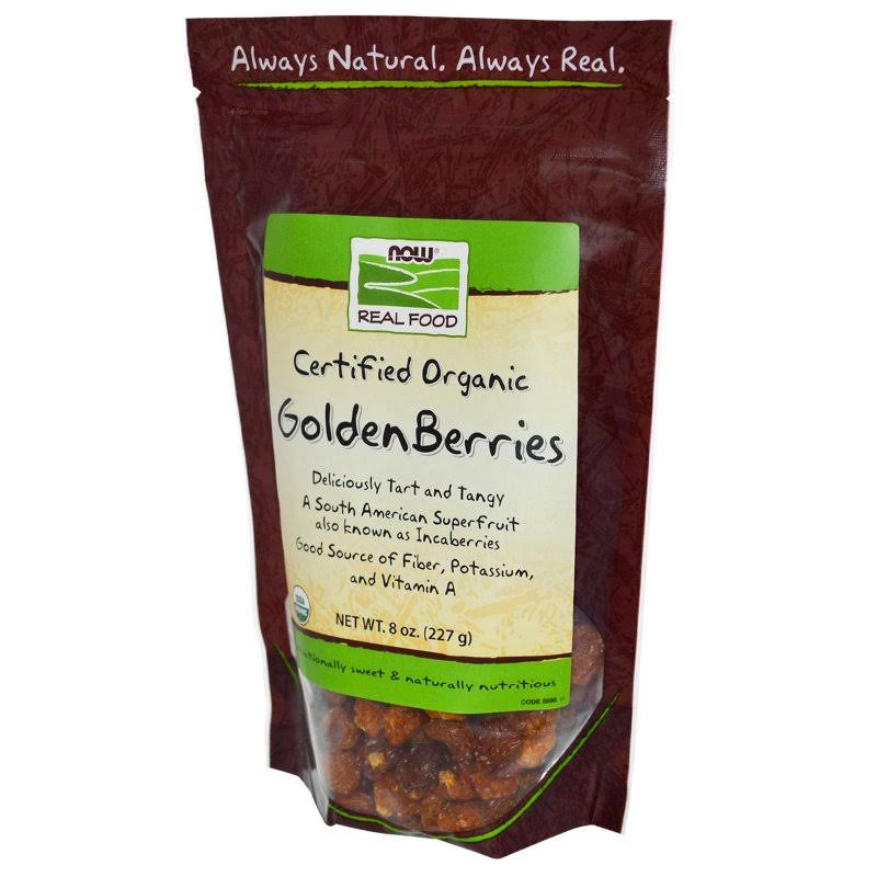 Now Foods Organic Golden Berries - 8 oz