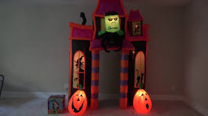 Gemmy Inflatable Halloween Animated Dragon by Gemmy Lowes Halloween Animated Airblown Inflatable Monster Archway