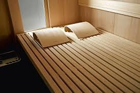 ausfahrbar sauna für das wohnzimmer