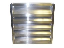 Ceiling Radiation Damper Boot by 2 Inch Channel Frame Louver Model 2 Srcf Lloyd Industries