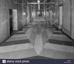 Tile And Terrazzo Flooring Hallways In Michigan Square Building 1930 Dec