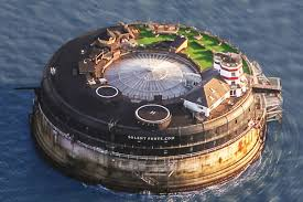 100 Spitbank Fort VictorianEra Sea S In England Reborn As Rad Luxury