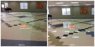 Burnishing Floors After Waxing by Floor Stripping And Waxing In Cleveland Oh Floor Waxing