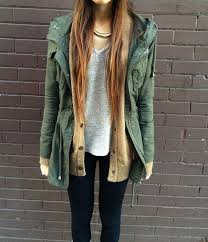Jacket Green Olive Parka Anorak Coat Army Winter Sweater Outfits Shoes