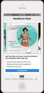 iPhone app Nordstrom Rack — Amanda Parkhurst