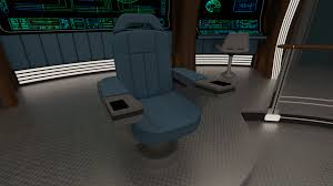 Star Trek Captains Chair by 3d Star Trek Interiors