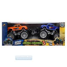 Friction Powered Cross Country Monster Truck 2 Pack Blue & Orange ... Hot Wheels Monster Jam Truck 21572 Best Buy Toys Trucks For Kids Remote Control Team Patriots Proshop Cars Playset Fun Toy Epic Arena At The Beach Unboxing 13 New Choice Products 24ghz 4wd Rc Rock Crawler Kingdom Cracked Offroad 4 X Shopee Philippines Sold Out Xtreme Samko And Miko Warehouse Cheap Find Deals On Line Custom Shop Truck Pack Fantastic Party Squirts