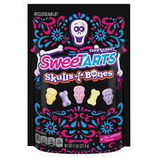 Best Halloween Candy by Sweetarts Skulls U0026 Bones Target Halloween Candy 2017 Popsugar