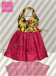 handmade indian baby toddler dress lehenga brocade silk