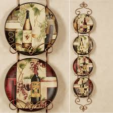 Grape Wall Decor For Kitchen by Vintage Wine And Grape Kitchen Decor Wine And Grape Kitchen