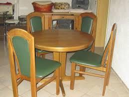 esszimmer set tisch rund oval mit 4 stühlen eiche dunkel