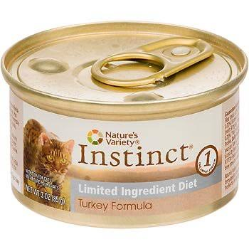 Nature's Variety Instinct Grain-Free Limited Ingredient Diet Canned Cat Food - Turkey Formula