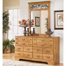 ashley signature design bittersweet 6 drawer dresser and mirror