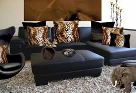 Animal Print Bedroom Decorating Ideas by Leopard Print Living Room Ideas