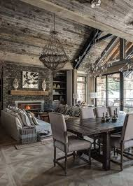 Ski In Out Chalet Montana With Rustic Modern Styling