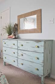 Beach Bedroom Ideas by Beach Themed Bedroom Aqua Painted Unfinished Dresser From Ikea