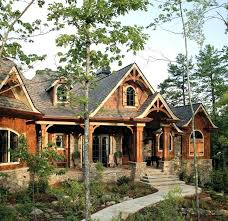 Modern Rustic House Plans Craftsman Cabin Home Decor Small