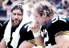 Original Iron Curtain Steelers by Steve Courson 77 And Mike Webster 52 Classic Steelers
