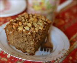 amish banana nut tea cake