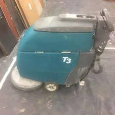 Tennant Floor Scrubber T3 by Tennant Battery Walk Behind Sweepers Ebay