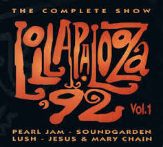 Pearl Jam Soundgarden Lush Jesus & Mary Chain