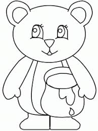 Bear Coloring Pages For Preschool