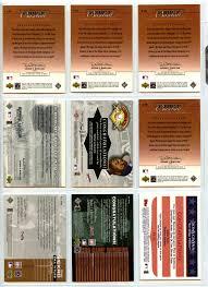 The Upper Deck Company Llc Linkedin by Lot Detail Modern Game Worn Jersey U0026 Game Used Bat Card