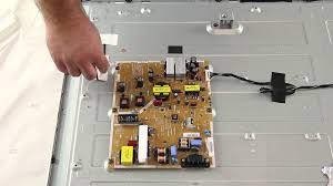 Vizio E470i A0 LED TV Power Supply LED Board No Backlights Replacement Instructional Video