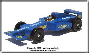 Formula e Pinewood Derby Car Design