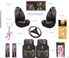 Realtree Floor Mats Mint by Pink Browning Buckmark 11 Pc Camo Auto Accessory Gift Set Floor